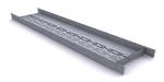 Профиль направляющий - перемычка для оконных и дверных проёмов с термопросечками (односторонний)