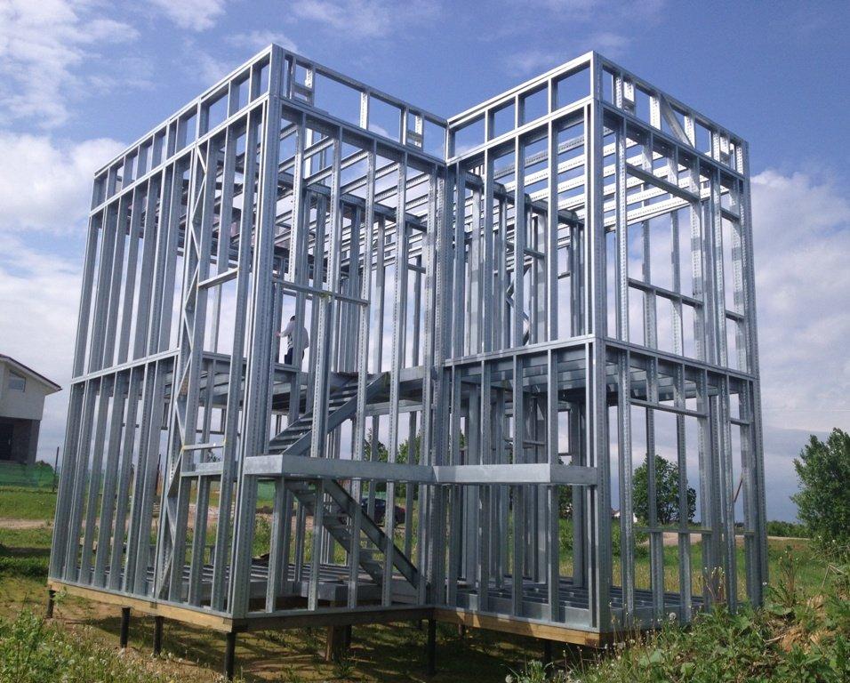 Построить дом из металлического каркаса