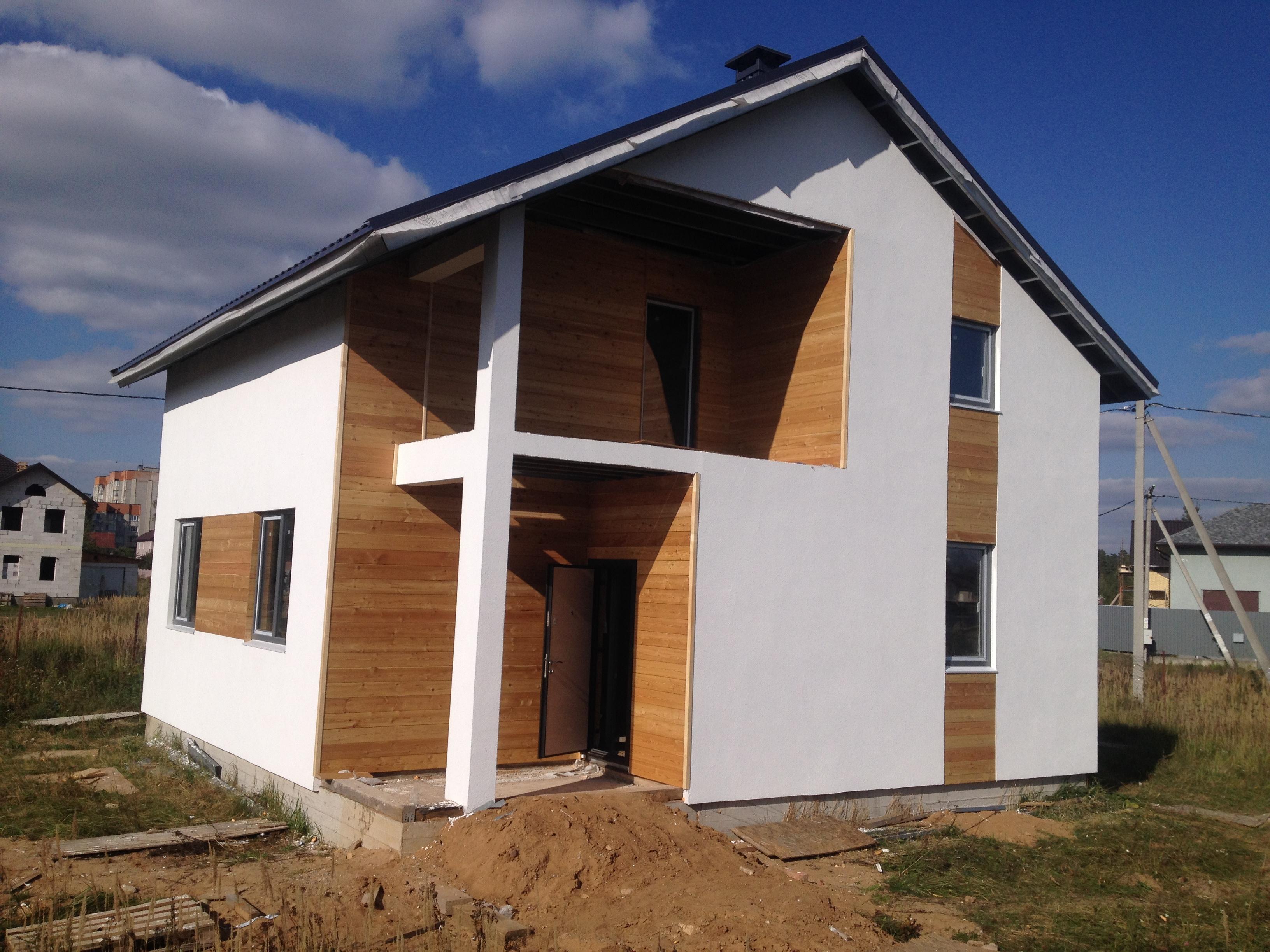 Строительство каркасного дома в Мачулищах