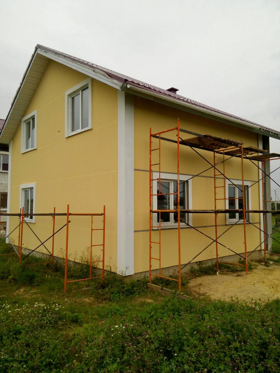 софит на свесы крыши в каркасном доме
