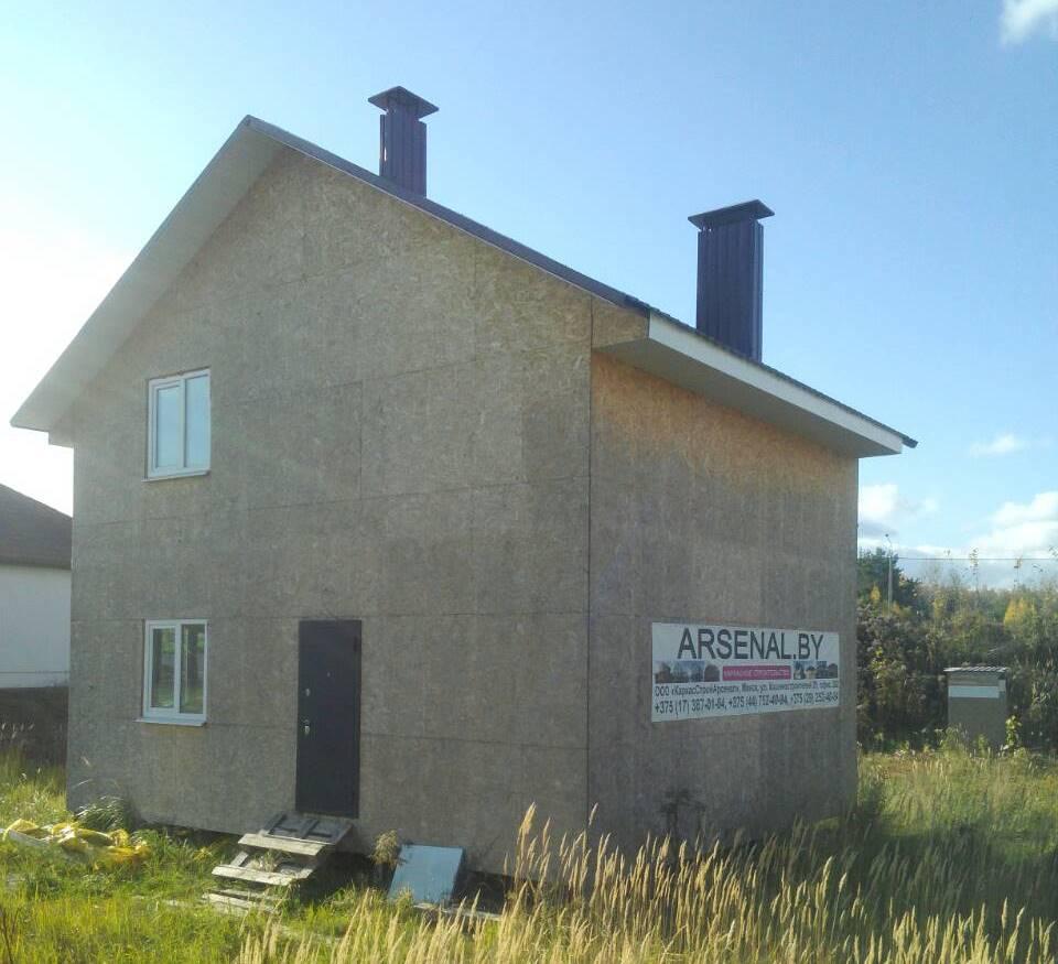 дом из металлопрофиля