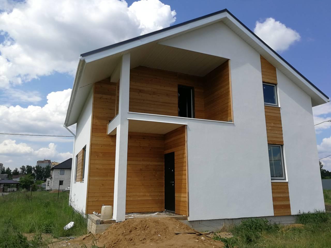 Как строят дома в Беларуси