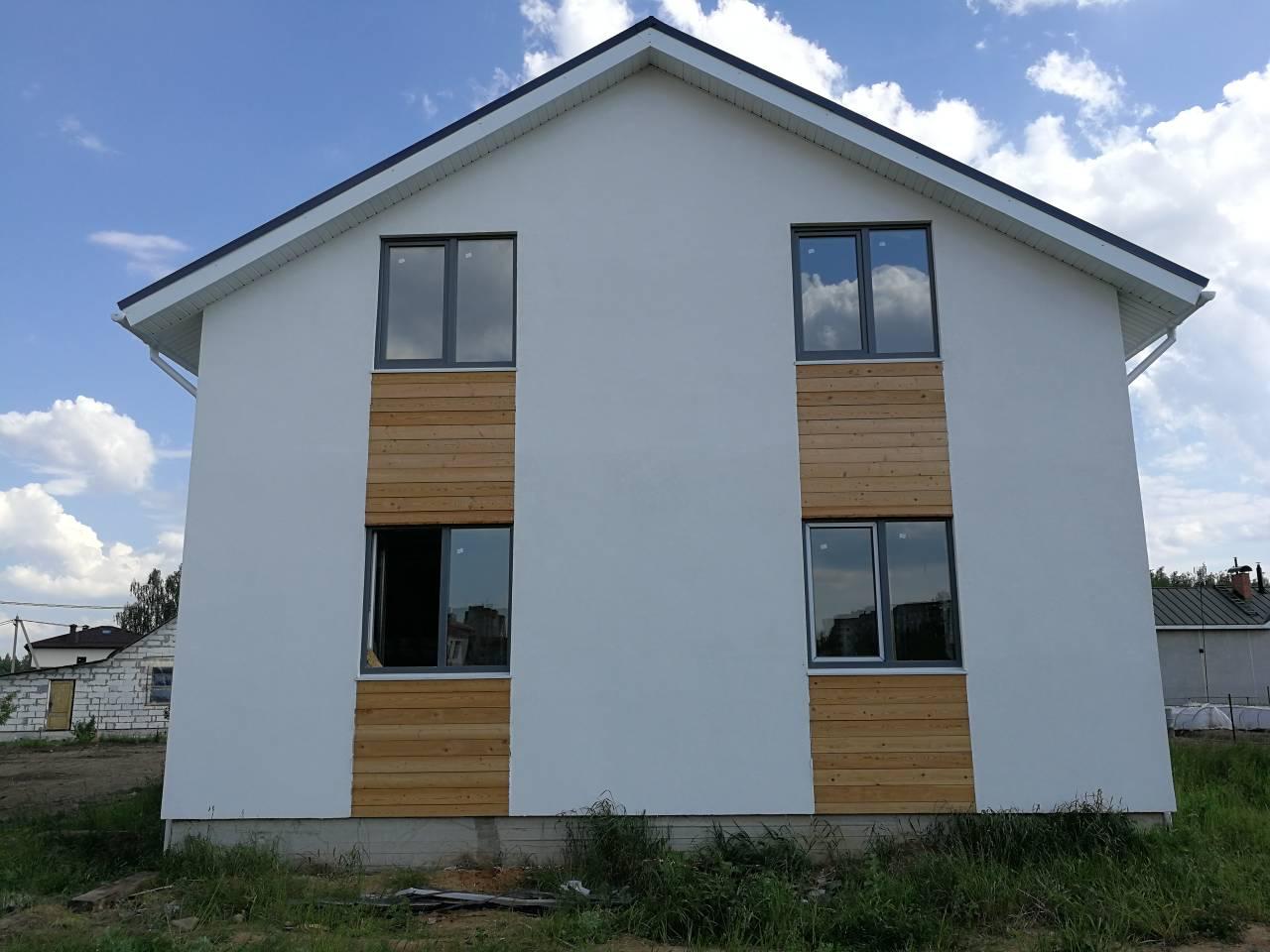 Строим дом в Мачулищах