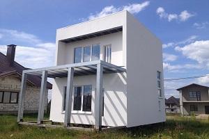 Классный дом из ЛСТК Беларусь