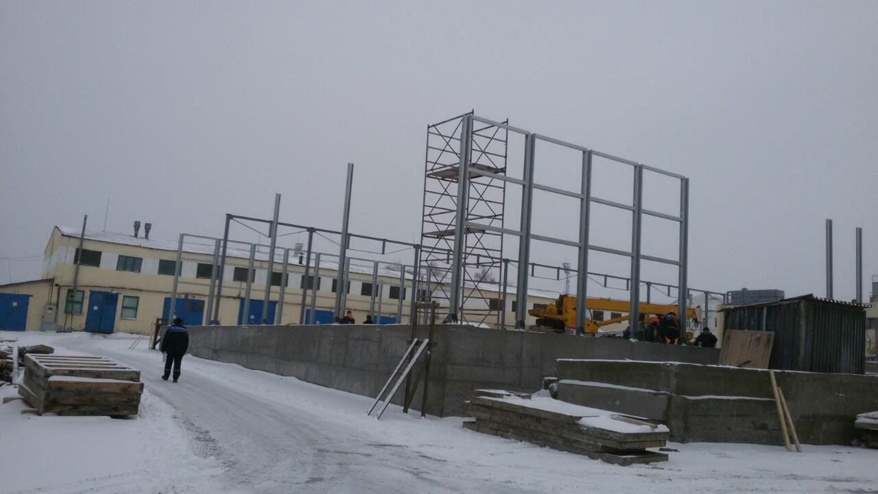 построить склад из лстк