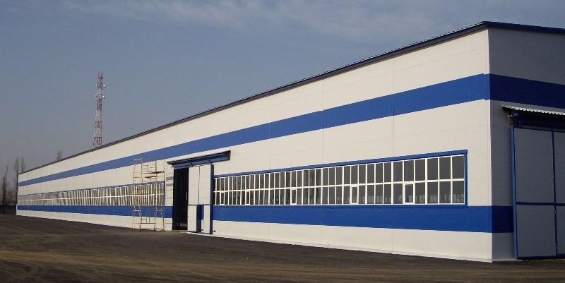 Производственное здание лстк