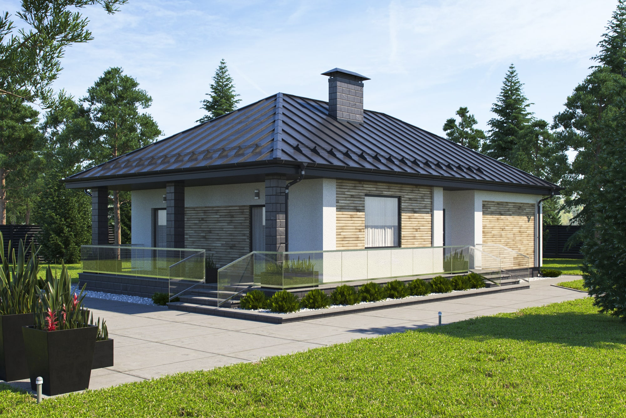 проект дома индивидуальный